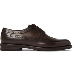 Ermenegildo Zegna Flex Leather Wingtip Brogues