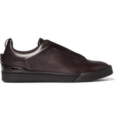 Ermenegildo Zegna Couture Leather Sneakers