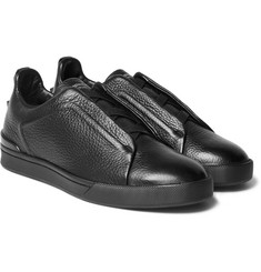 Ermenegildo Zegna - Couture Leather Sneakers