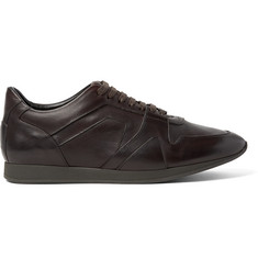 Burberry Panelled Leather Sneakers