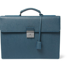 Dolce & Gabbana Pebble-Grain Leather Briefcase