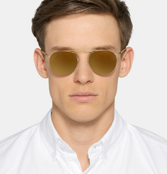 Maison Margiela - Aviator-Style Metal Sunglasses