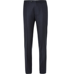 Canali - Navy Firenze Slim-Fit Super 120s Wool Trousers