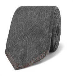 Canali 8cm Silk And Cashmere-Blend Tie