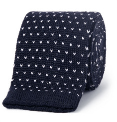 Canali Knitted Wool Tie