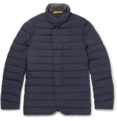 Canali Quilted Shell Jacket