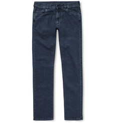Canali - Stretch Cotton and Cashmere-Blend Denim Jeans