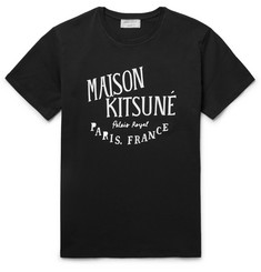 Maison Kitsuné Printed Cotton T-Shirt