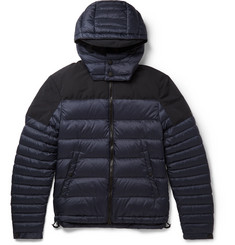 Burberry Brit Faille-Trimmed Quilted Shell Down Jacket