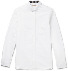 Burberry Brit Button-Down Collar Cotton Shirt