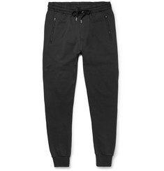 Burberry - Brit Skinny-Fit Cotton-Jersey Sweatpants