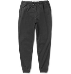 McQ Alexander McQueen Tapered Stretch-Cotton Trousers