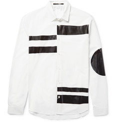 McQ Alexander McQueen Sheehan Slim-Fit Coated Cotton-Poplin Shirt