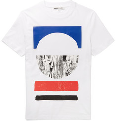 McQ Alexander McQueen Slim-Fit Printed Cotton T-Shirt