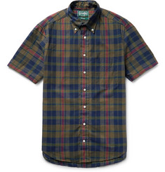 Gitman Vintage Madras-Checked Cotton Shirt
