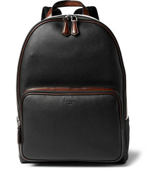 Berluti - Time Off Grained-Leather Backpack