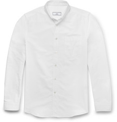 AMI - Slim-Fit Button-Down Collar Cotton Oxford Shirt