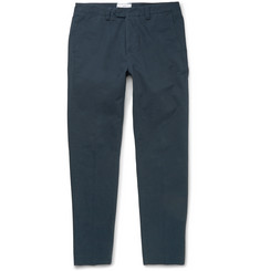 AMI Slim-Cut Cotton-Twill Chinos