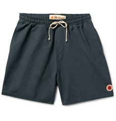 Mollusk Vacation Mid-Length Cotton-Blend Swim Shorts