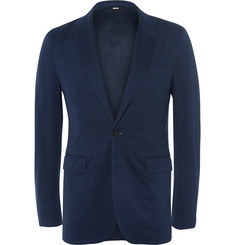 Burberry London Slim-Fit Cotton-Piqué Blazer