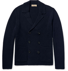 Burberry London Double-Breasted Wool and Cashmere-Blend Cardigan
