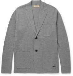 Burberry London Slim-Fit Wool and Cashmere-Blend Cardigan