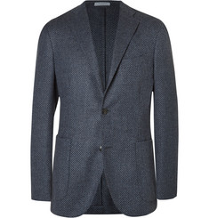 Boglioli Blue Slim-Fit Wool and Cashmere-Blend Blazer