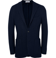Boglioli Midnight-Blue K-Jacket Slim-Fit Wool Blazer