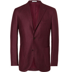 Boglioli - Red Slim-Fit Wool Blazer