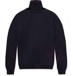 Boglioli Virgin Wool Rollneck Sweater