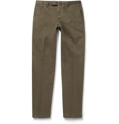 Boglioli Slim-Fit Stretch-Cotton Chinos
