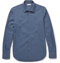 Boglioli Slim-Fit Checked Cotton Shirt