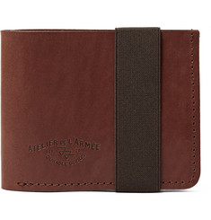 Atelier de L'Armée Flight Leather Billfold Wallet