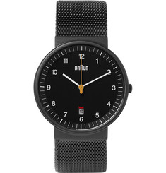 Braun BN0032 Matte Stainless Steel Watch