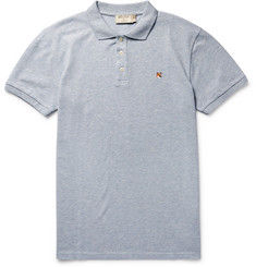 Maison Kitsuné - Slim-Fit Cotton-Piqué Polo Shirt