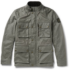 Belstaff Trialmaster Slim-Fit Waxed-Cotton Jacket