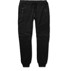 Belstaff Ashdown Slim-Fit Tapered Loopback Cotton-Jersey Sweatpants