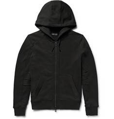 Belstaff - Fleming Loopback Cotton-Jersey Zip-Up Hoodie