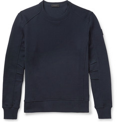 Belstaff - Chanton Panelled Cotton-Jersey Sweatshirt