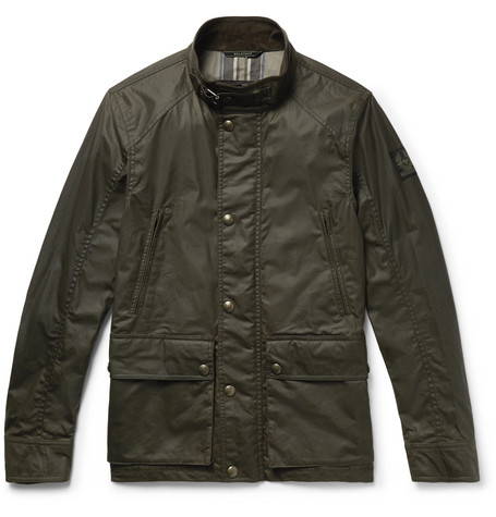 Tourmaster Waxed Cotton Jacket by Belstaff