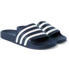 Adidas Originals - Adilette Textured-Rubber Slides