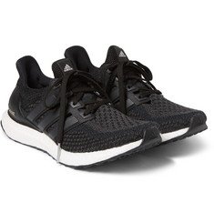 Adidas Originals - Ultra Boost Rubber-Trimmed Primeknit Sneakers