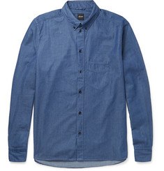 Albam - Button-Down Collar Cotton Shirt