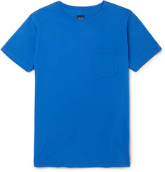 Albam - Slim-Fit Garment-Dyed Cotton-Jersey T-Shirt