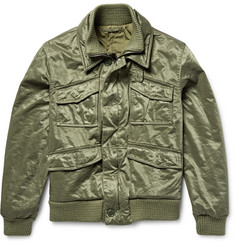 Aspesi Satin-Twill Field Jacket