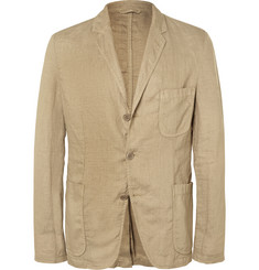 Aspesi - Sand Slim-Fit Unstructured Linen Blazer