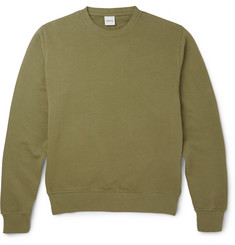 Aspesi - Loopback Cotton-Jersey Sweatshirt