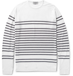 John Smedley Totnes Striped Merino Wool Sweater