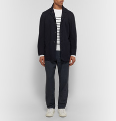 John Smedley - Totnes Striped Merino Wool Sweater