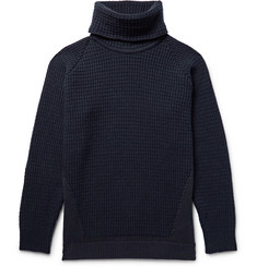John Smedley Merino Wool-Blend and Sea Island Cotton Rollneck Sweater